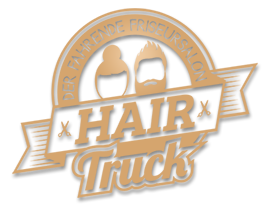 Hairtruck in Dresden Logo